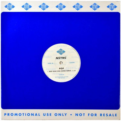 """N'SYNC - Pop (12"""")"""
