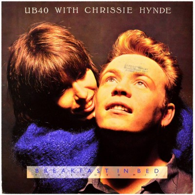 """UB40 with CHRISSIE HYNDE - Breakfast in bed (12"""")"""