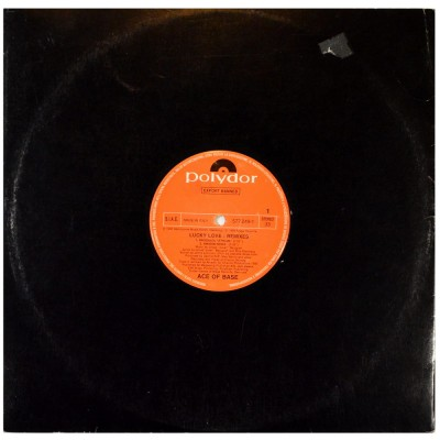 """ACE OF BASE - Lucky love (Remixes) (12"""")"""
