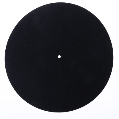 Slipmat filcová podložka pro gramofon - černá