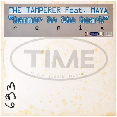 """THE TAMPERER feat. MAYA - Hammer to the heart (12"""")"""