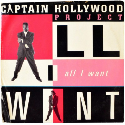 """CAPTAIN HOLLYWOOD PROJECT - All i want (12"""")"""
