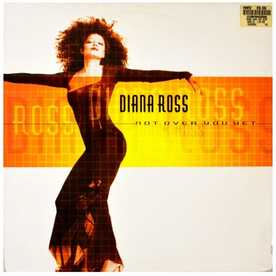 """DIANA ROSS - Not over you yet (2x 12"""")"""